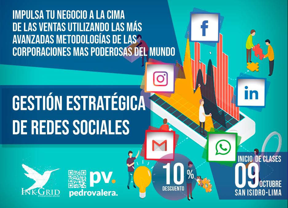 Curso de Gestión Estratégica de Redes Sociales